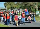 Hattie Watts Elementary School students march in Saturday's Red Ribbon Week Parade of Schools. Turn to Page 13 for more photos from Saturday.